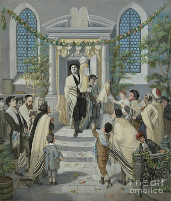 Pentecost Painting - Shavuot - Pentecost by Celestial Images