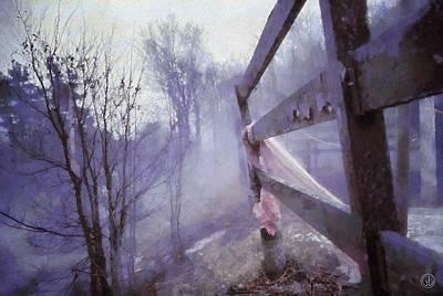 Winter Digital Art - She Forgot by Gun Legler