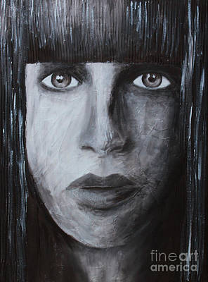 Painting - She by Home Art