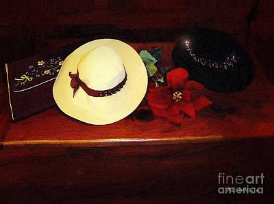 She Loved Hats Print by RC DeWinter