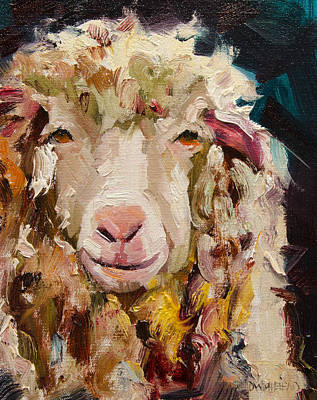 Sheep Alert Original by Diane Whitehead
