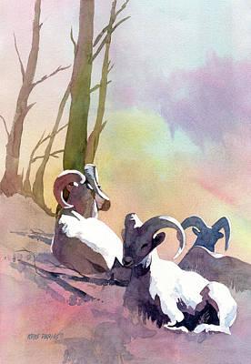 Sheep Shape Original by Kris Parins