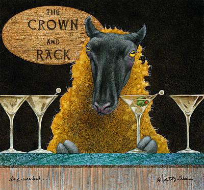 Sheep-wrecked... Original by Will Bullas