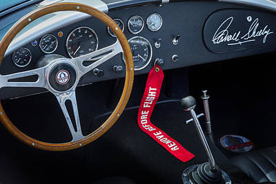 Mechanics Photograph - Shelby Cobra by Bill Wakeley
