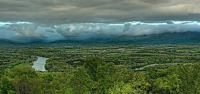 Spring Scenes Photograph - Shenandoah Green Valley by Lara Ellis