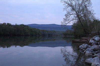 Water Photograph - Shenandoah Valley - 011318 by DC Photographer