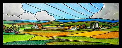 Shenmont Farm Original by Jim Harris