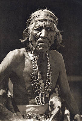 Jewelry Photograph - Shepherd Of The Hills, Navajo by Underwood Archives