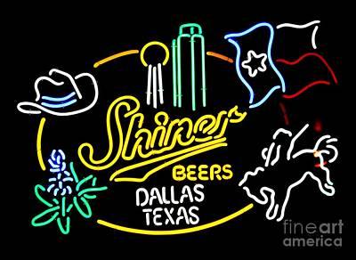 Shiner Photograph - Shiner Dallas by Robert ONeil
