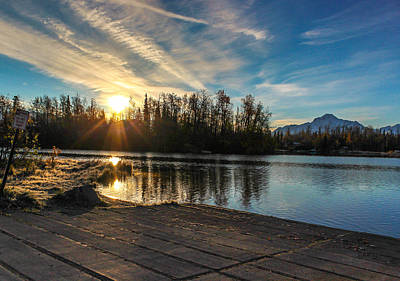 Shining Sunrise Print by Tyler Olson