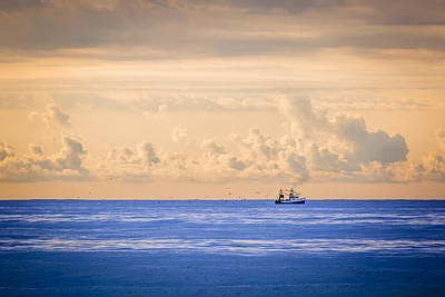 Hamptons Photograph - Captain's Catch by Ryan Moore