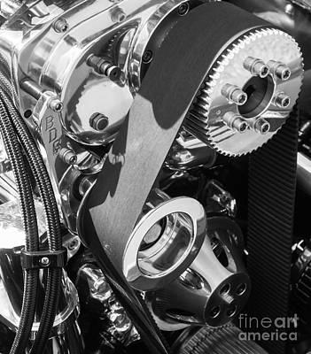 Etail Photograph - Shiny Gears 2 by Bob Zuber