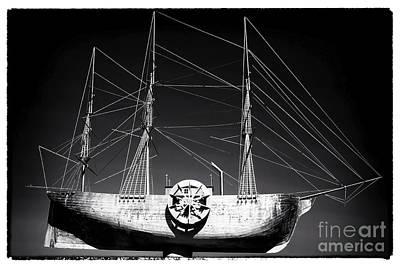 Ship Print by John Rizzuto