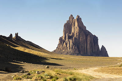 Navajo Photograph - Shiprock 3 - North West New Mexico by Brian Harig