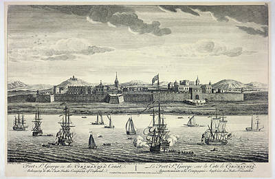 East India Photograph - Ships Sailing Into Port by British Library