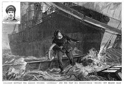 Shipwreck, 1887 Print by Granger