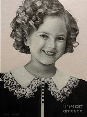 Shirley Temple Painting - Shirley by Mario Sukkar