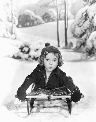Shirley Temple Photograph - Shirley Temple by MMG Archives