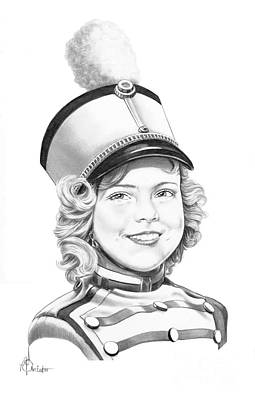 Shirley Temple Drawing - Shirley Temple by Murphy Elliott