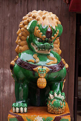 Good Luck Photograph - Shisa, Or Okinawan Lion Gods by Paul Dymond