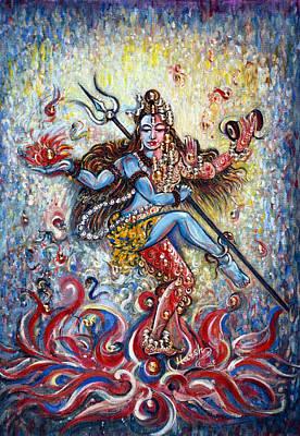 Shiv Shakti Print by Harsh Malik