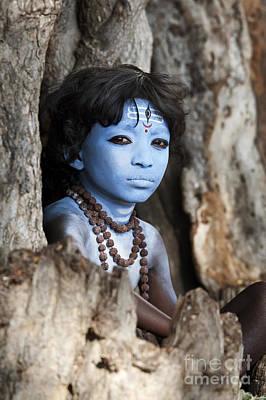 Deity Photograph - Shiva Boy by Tim Gainey