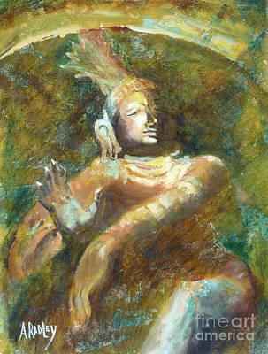 Vishnu Painting - Shiva Creator Destroyer by Ann Radley