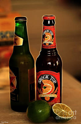 Shock Top Print by Cheryl Young
