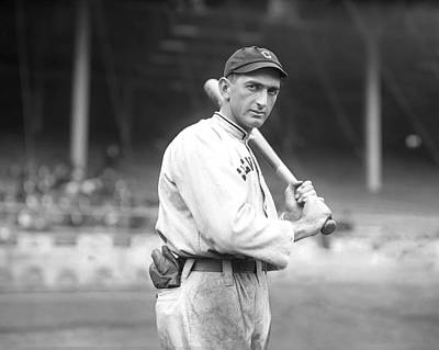 Joe Photograph - Shoeless Joe Jackson by Retro Images Archive
