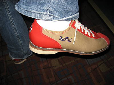 Bob Photograph - Shoes - Bowling - 01131 by DC Photographer