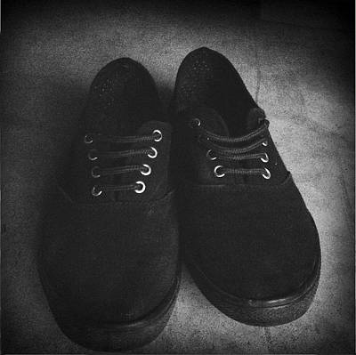 Sneakers Photograph - Shoes by Les Cunliffe
