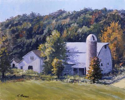 Kansas Artist Painting - Shooters Farm by Rick Hansen