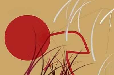 Shooting Hoops Print by Diana Angstadt