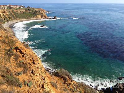 California Ocean Photograph - Shore Line Of Palos Verdes by Micah May