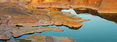 Shoreline Of Lake Powell Seen Print by Panoramic Images