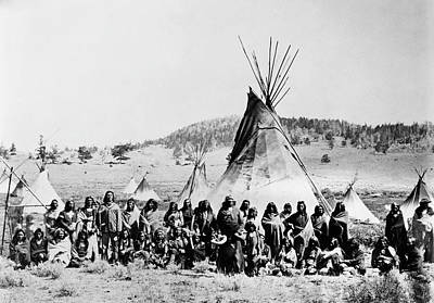 Washakie Photograph - Shoshone, C1870 by Granger