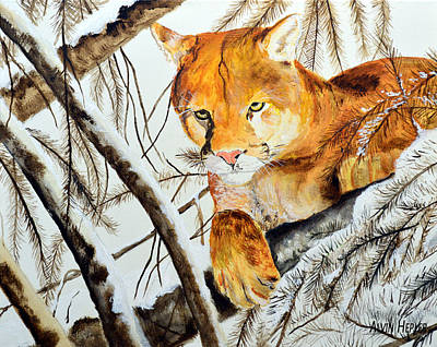 Should I Jump - Mountain Lion Original by Alvin Hepler