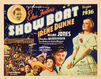 Helen Paul Photograph - Show Boat,  Top Left Allan Jones by Everett