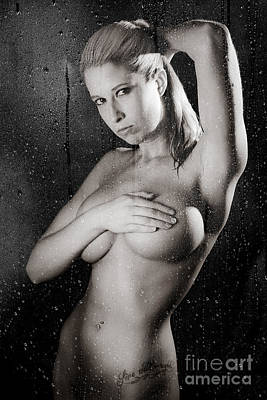 Shower A Print by Jt PhotoDesign