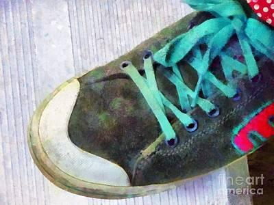 Showoff Shoe Print by RC DeWinter
