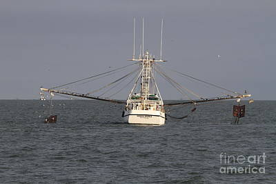 Boat Photograph - Shrimp Boat 3 by Cathy Lindsey