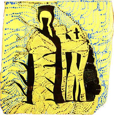 Shroud Of Jesus Print by Gloria Ssali