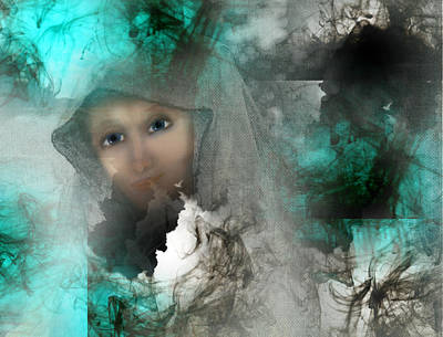The Universe Digital Art - Shroud Of Truth by Patricia Motley