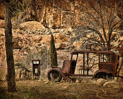Watson Lake Photograph - Shuttle Transport by Priscilla Burgers