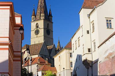 Romania Photograph - Sibiu, Transylvania, Romania by Peter Adams