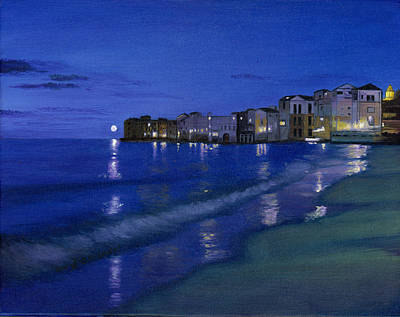 Sicilian Sunset Original by Cecilia Brendel