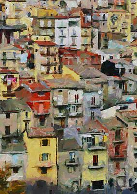 Sicily Digital Art - Sicily Italy 1 by Yury Malkov