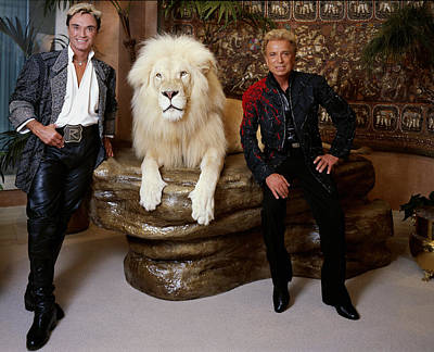 Siegfried And Roy Print by Mountain Dreams