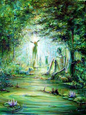 Eternal Life Painting - Siempre Conmigo by Heather Calderon