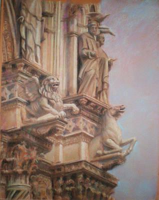 Siena Cathedral Print by Paez  Antonio